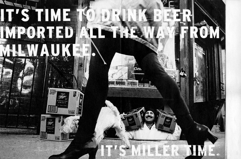 Miller Genuine Draft Campaign  Wieden + Kennedy, Portland 1997