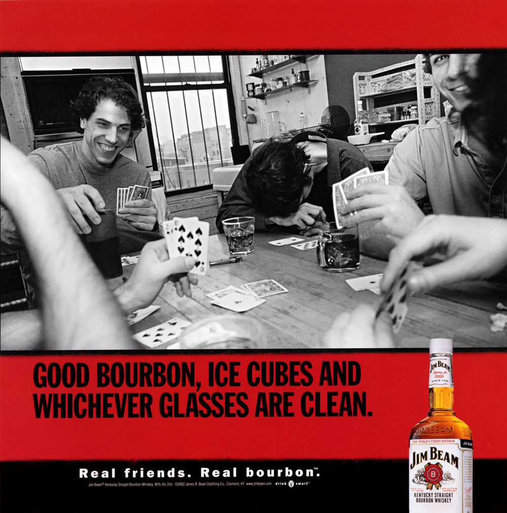 Jim Beam White Campaign  Young & Rubicam, Chicago 2002