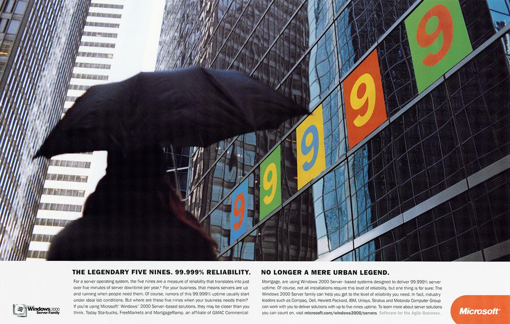 Microsoft 9's Campaign  McCann Erickson, San Francisco 2000