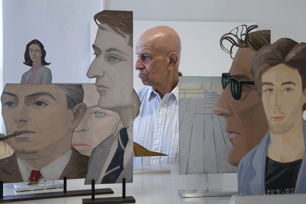 Alex Katz  New York, NY.  2013