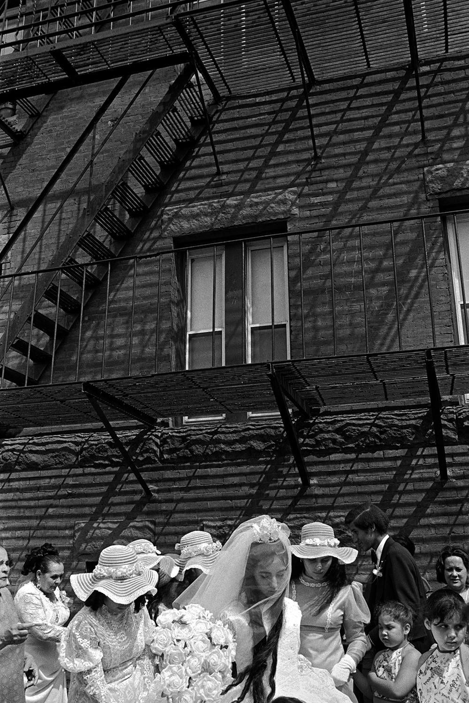 Puerto Rican bride  Dorchester, MA. 1976