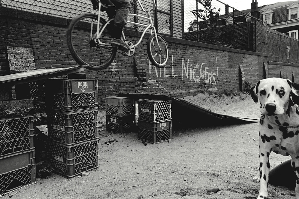 Graffiti  South Boston, MA.  1975