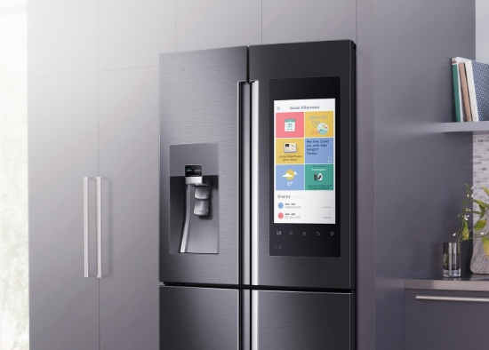 The Gist: Samsung Had The Most High Profile Of The Smart Kitchen Product  Debuts At CES This Year With The Family Hub Refrigerator, An Internet  Connected ...