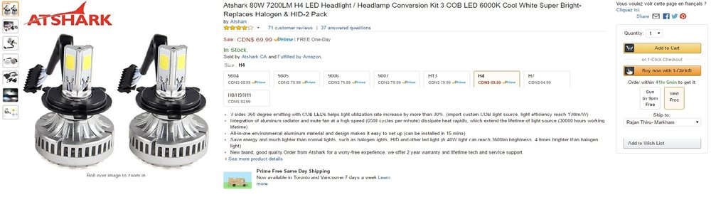 LED Headlight Review by R Theory