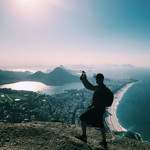Yesterday's hike with @trilhadoisirmaos and @nomadiq__ in Vidigal!