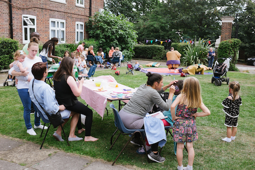Athlone Hall summer garden party