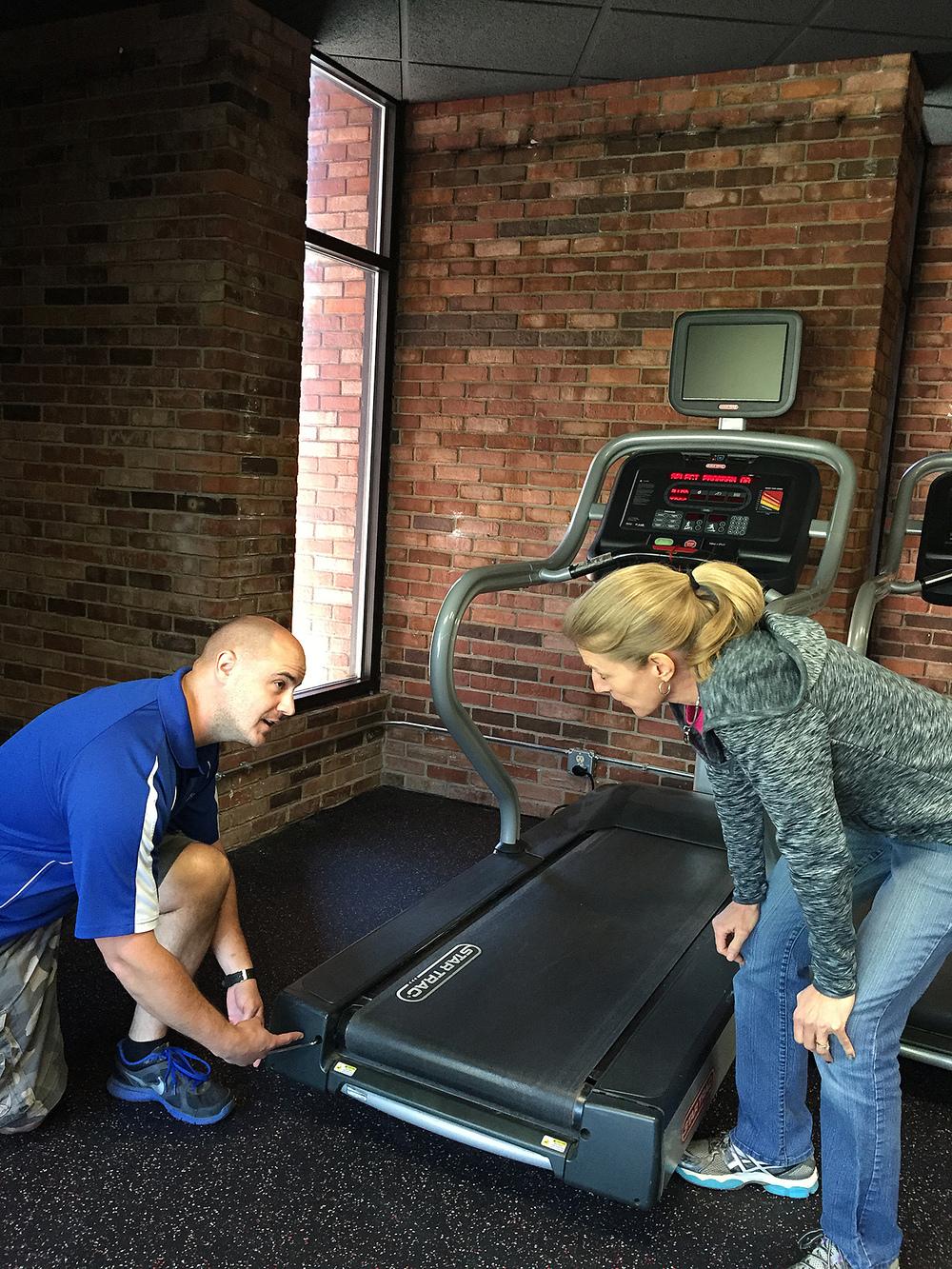 Fitness Equipment Service + Preventative Maintenance