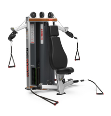 Commercial Strength Circuits Functional Star Trac HumanSport Chest Shoulder