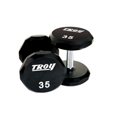 Free Weights Troy Dumbbells