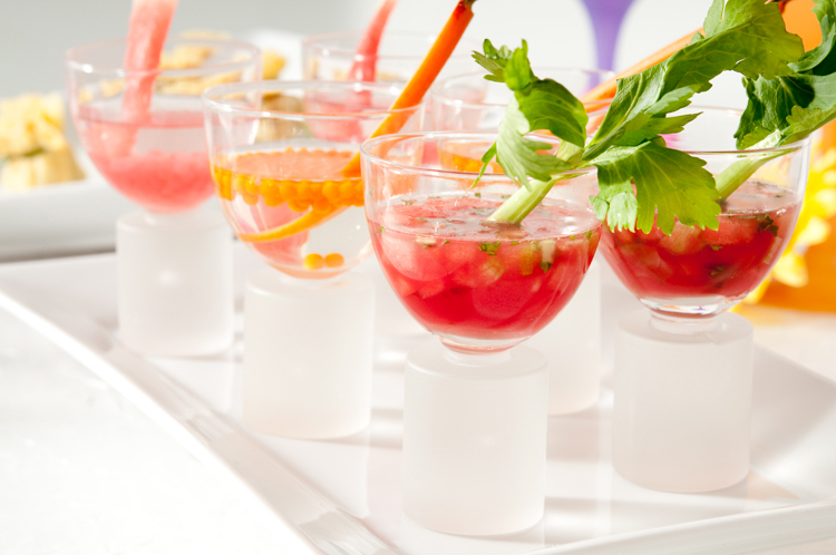 Mixed Summer Drinks