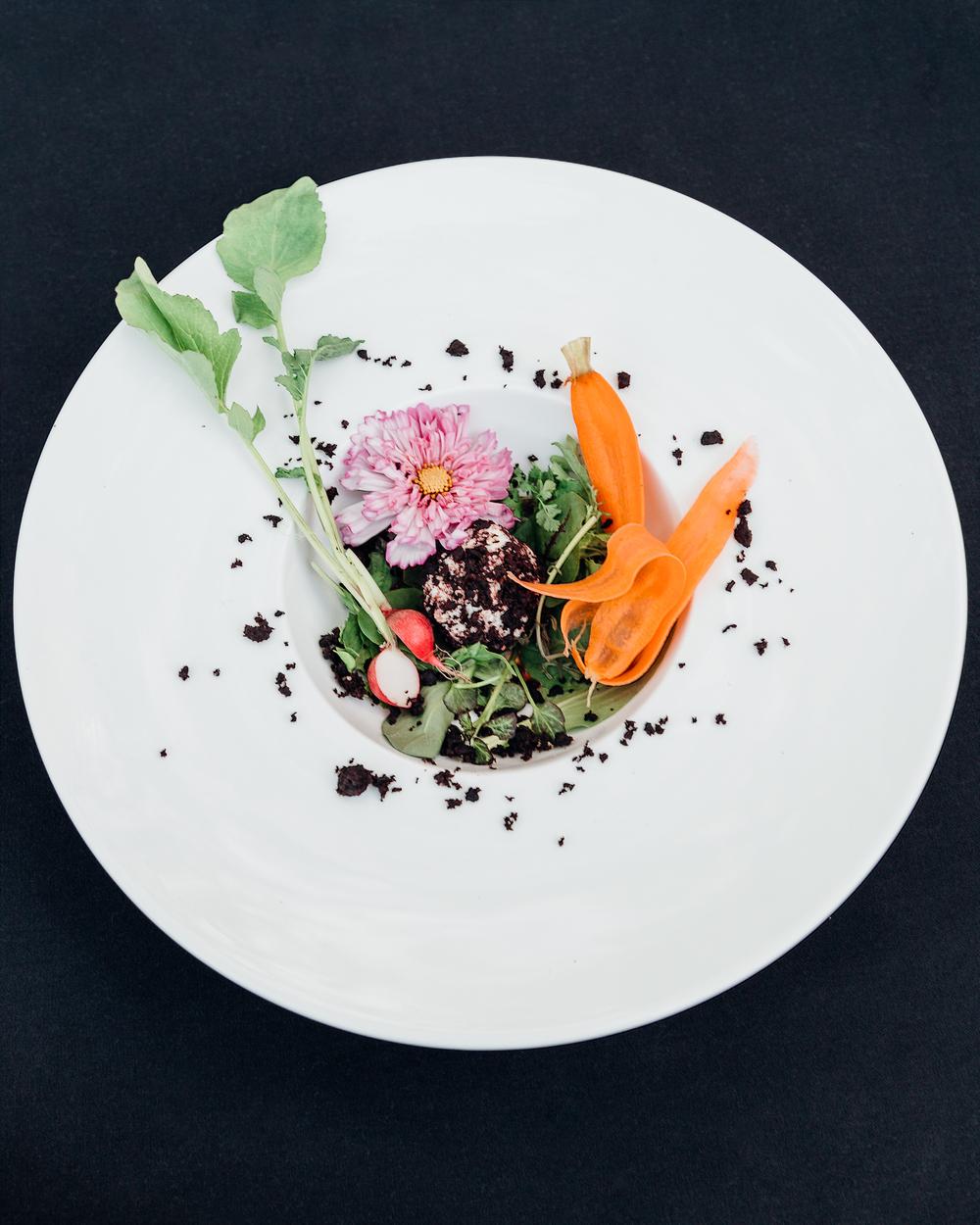 Shaved Baby Vegetable Salad