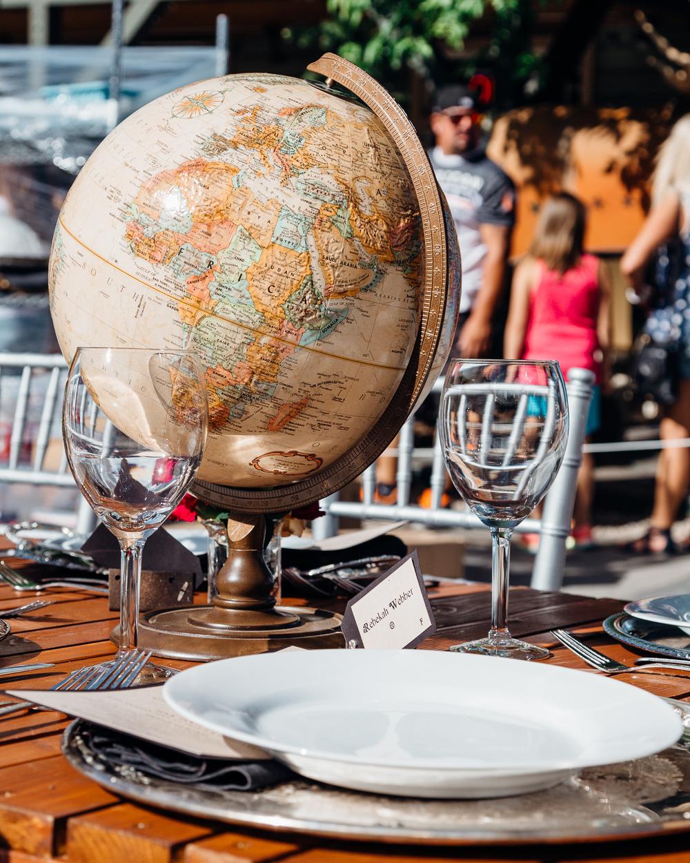 Globe Centerpiece