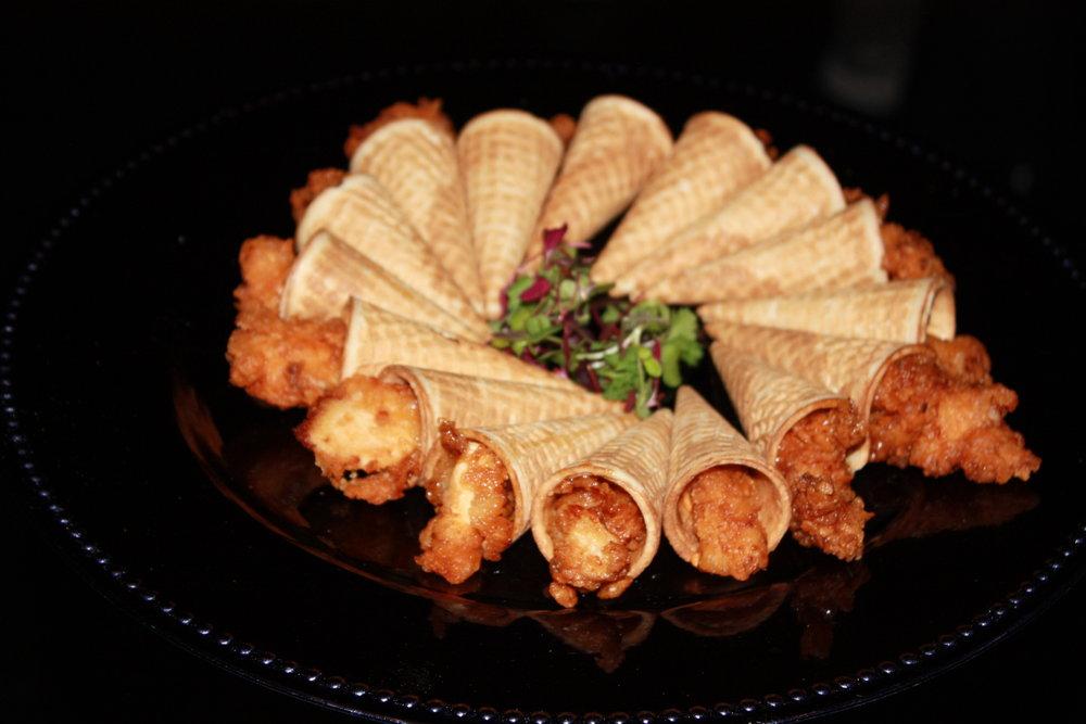 Chicken & Waffle Cones