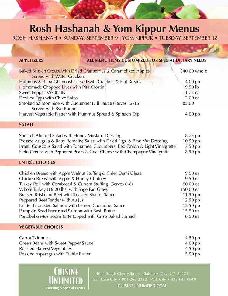 click to see full menu