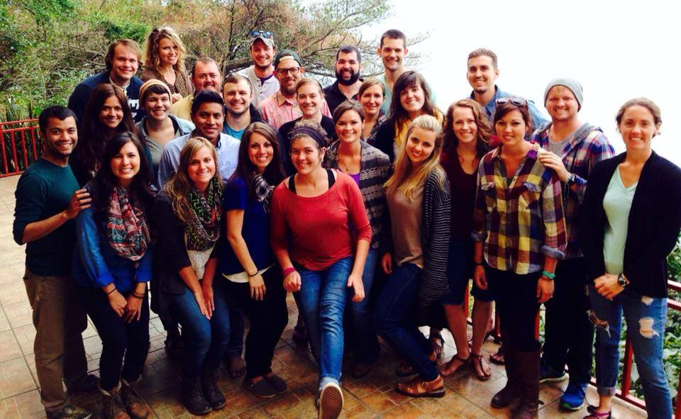 Team Guatemala in January 2014, when a group of interns arrived