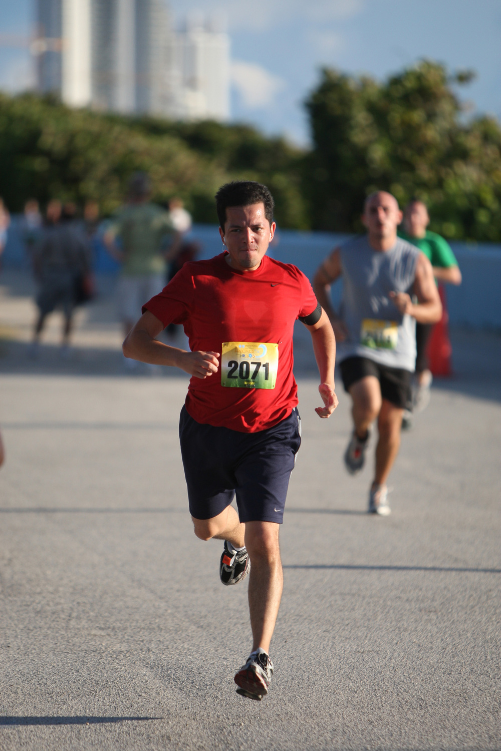 Sept 21, 2008: My first official 5k, Haulover 5k
