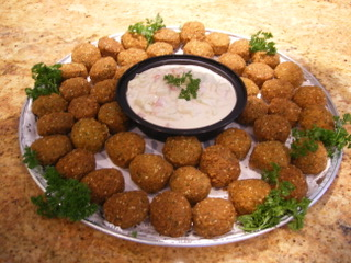 Whole Falafel with Tahini Sauce.JPG
