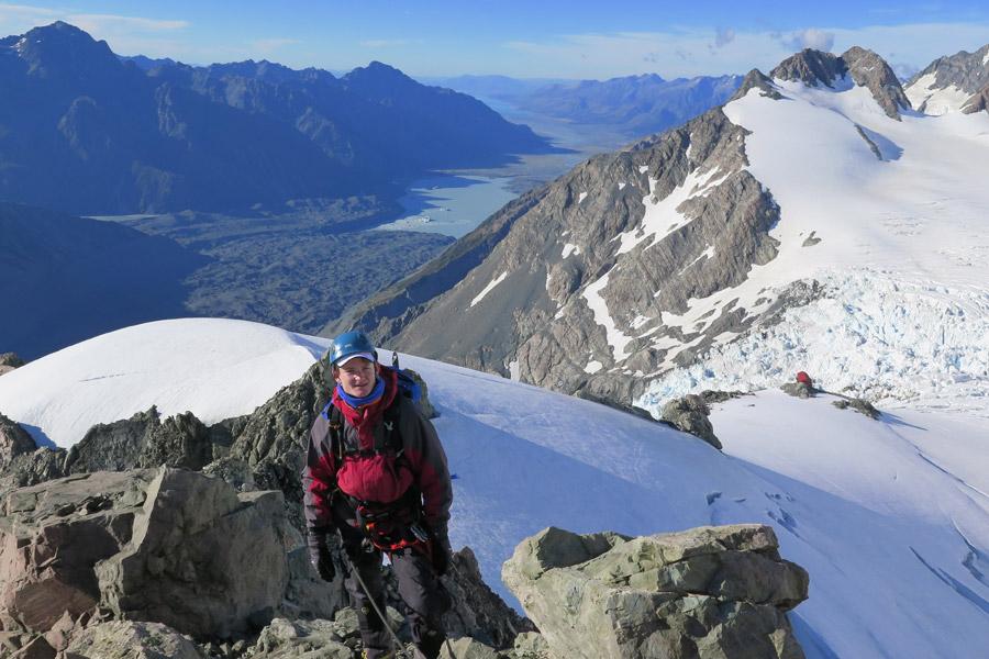 Late-season on the eastern peak of Glacier Dome.