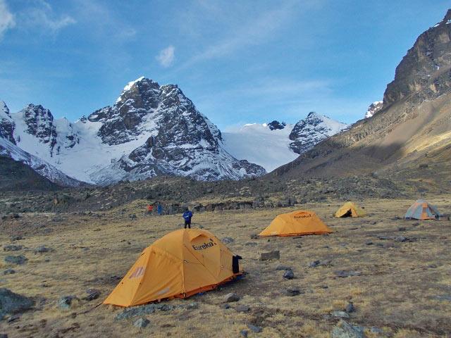 Condoriri base camp.