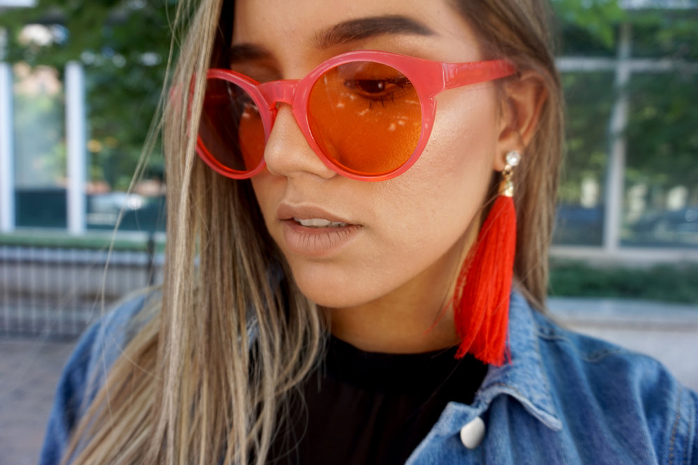 Street Style Pink Glasses