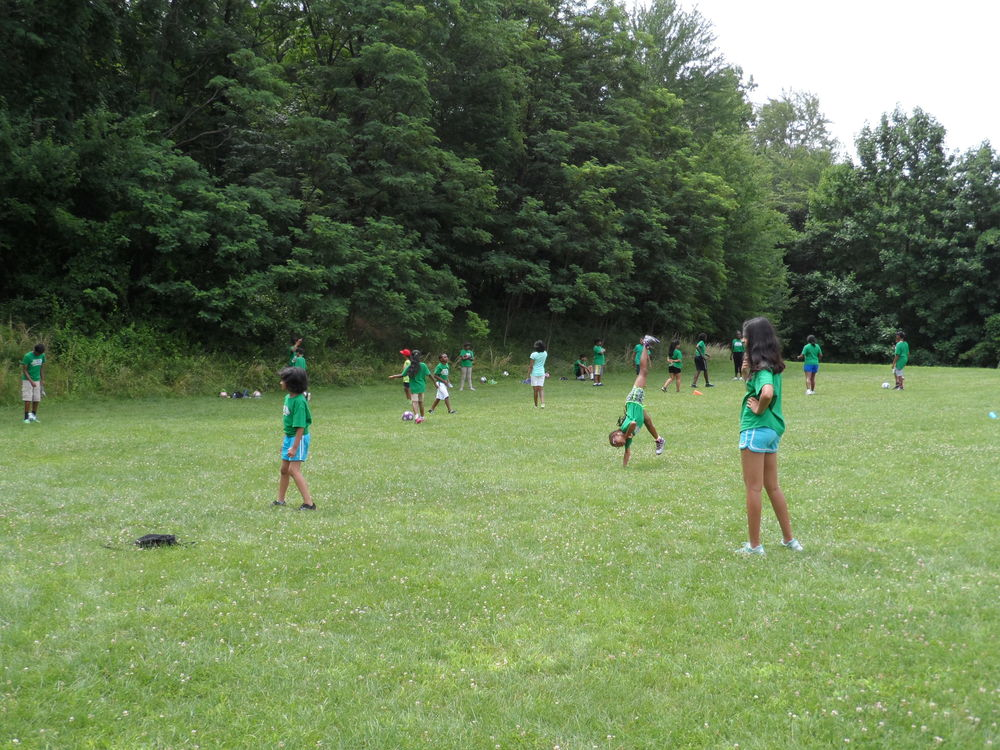 HICF VBS - soccer practice