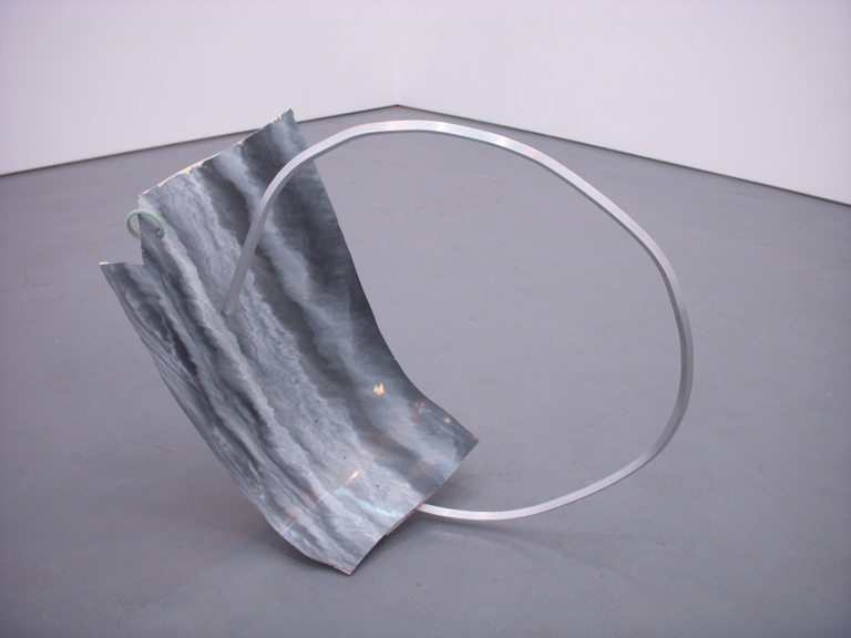 Undercover, 2013, Aluminum, foam, acrylic, fiberglass, plastic, and faux geode rock, 25 x 17 x 25  in