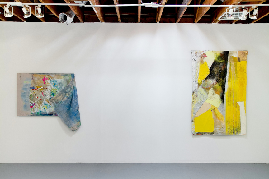"""Stretchin Out"" Solo Show, Sonce Alexander Gallery, Los Angeles, CA Install View, 2015"