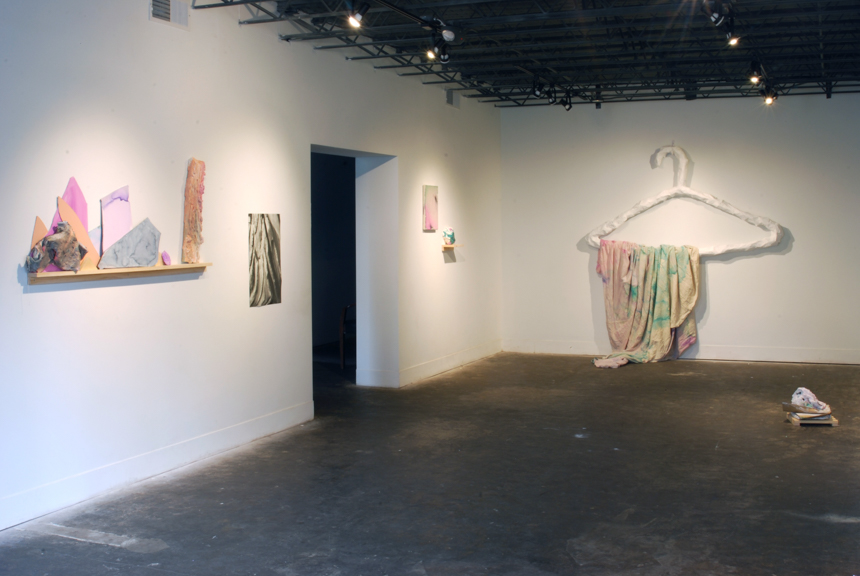 Former Self and a Bright Future, installation view, 2015 Hatch, Detroit, MI