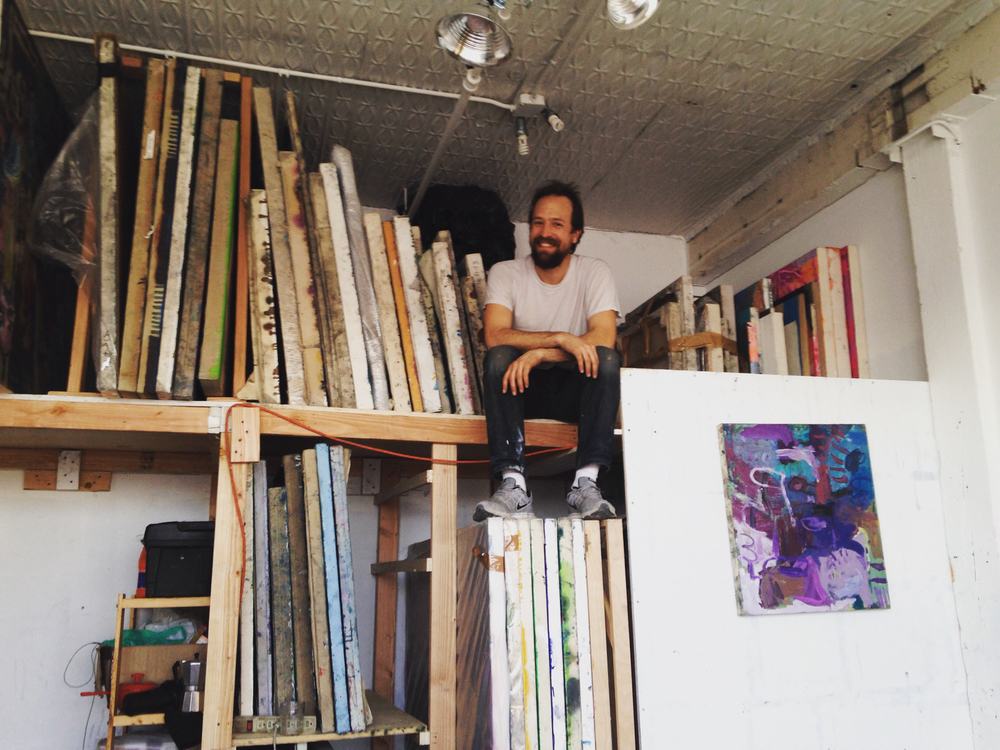 Todd in his Brooklyn studio.