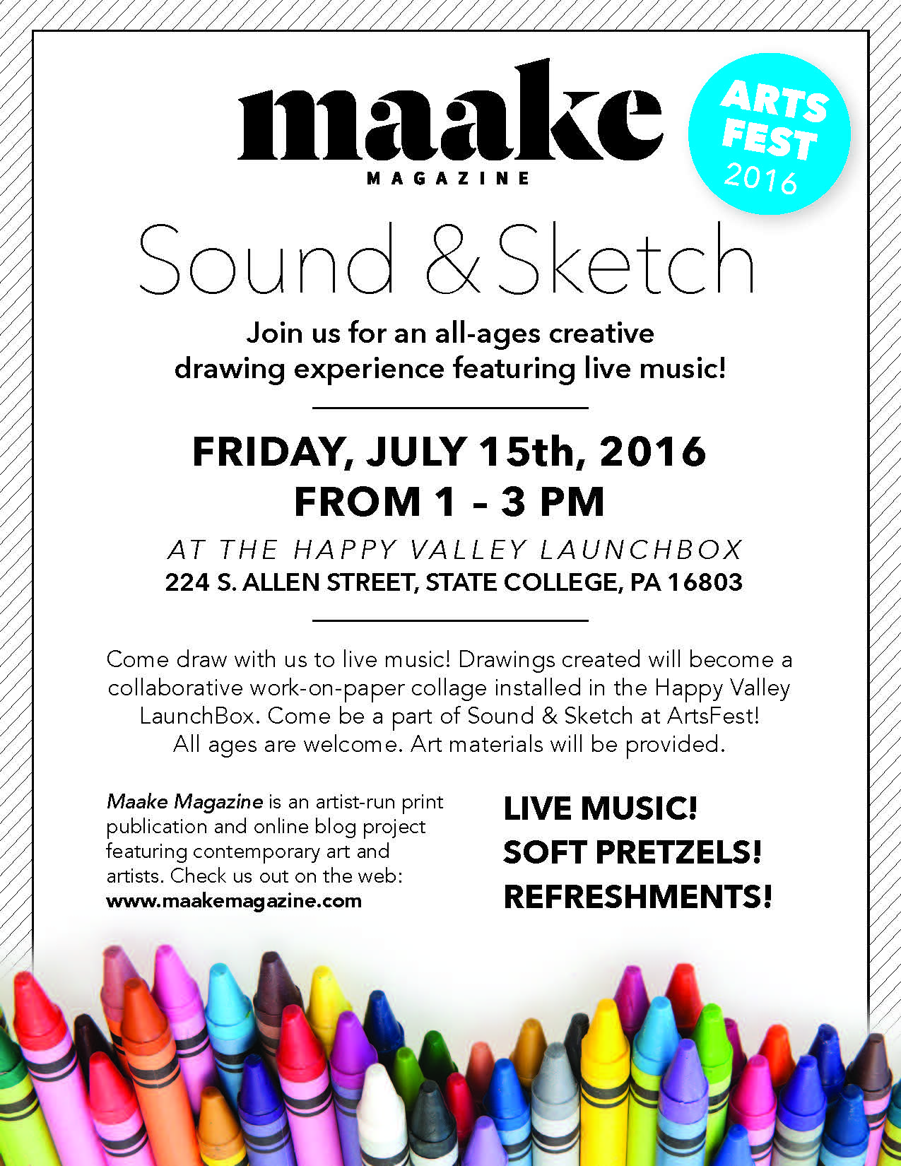 Maake Magazine Sound & Sketch — Maake Magazine