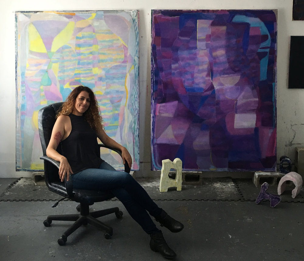 Rema in her studio
