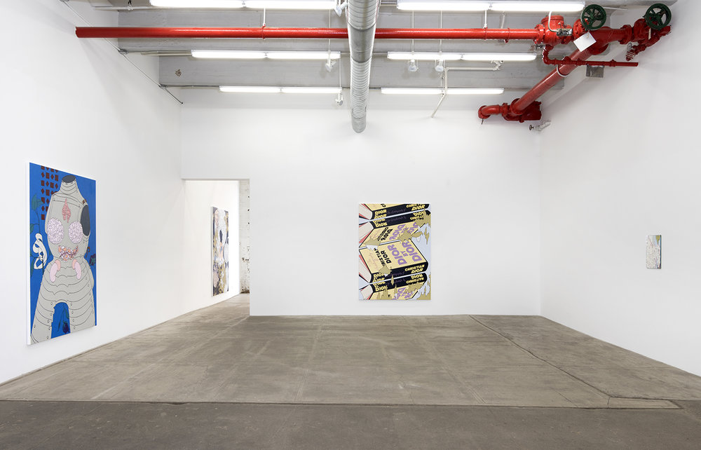 Installation view at Bortolami Gallery