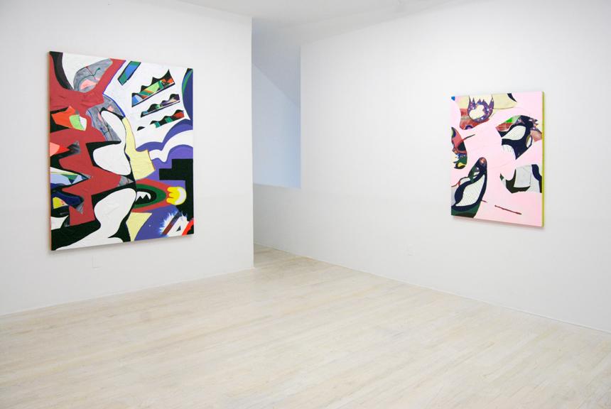 Installation View:  Free Fallin' , 2016, Halsey McKay Gallery, East Hampton, NY
