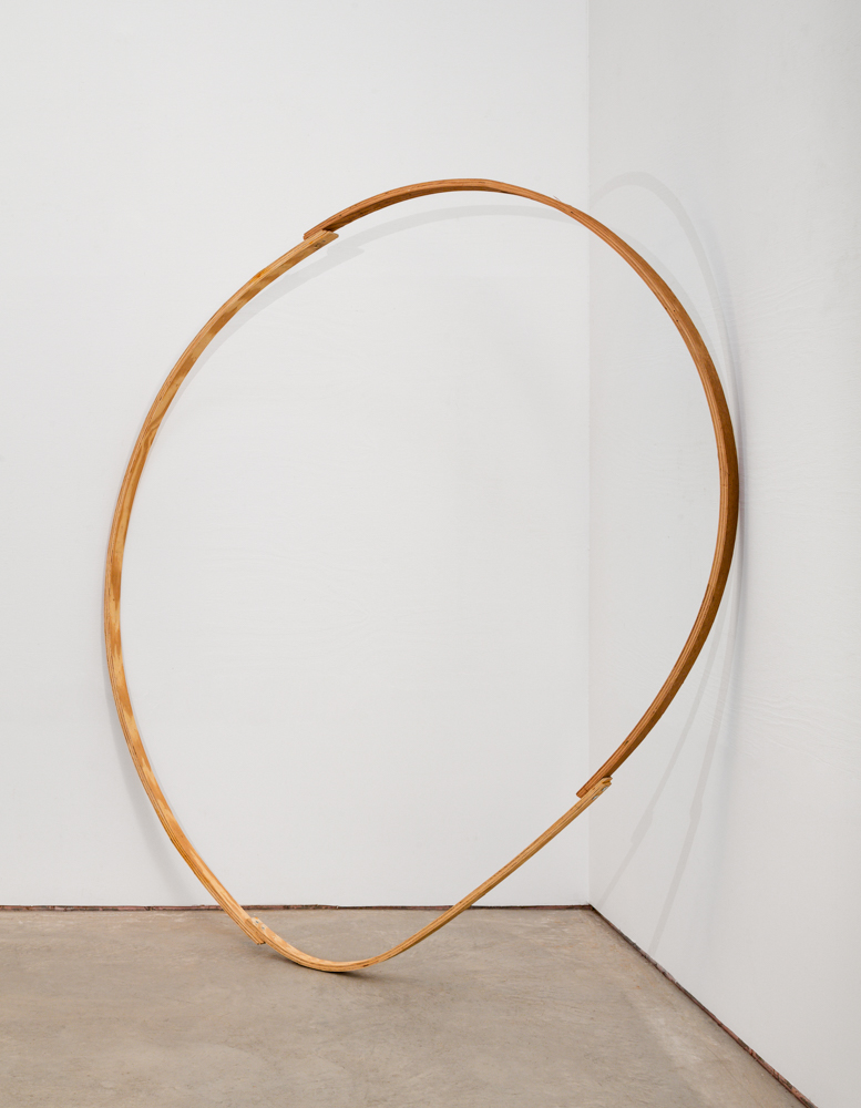 Untitled  2006 Wood 78 x 73 x 17.25 in