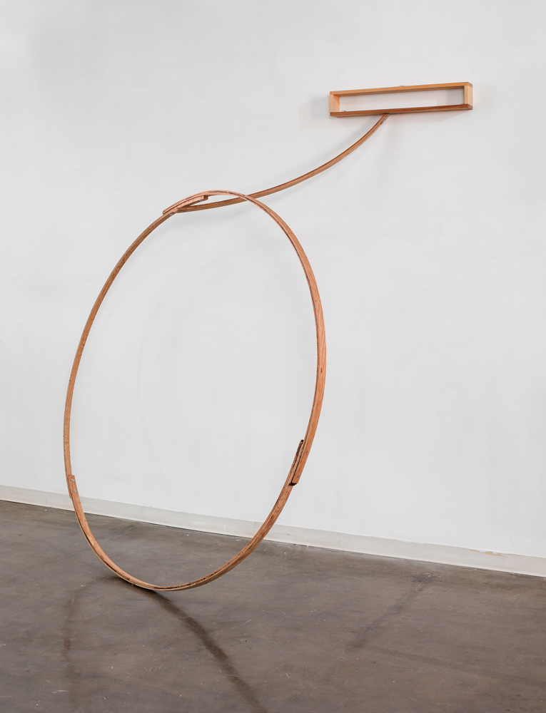 Untitled  2006 Wood 102. x 87 x 51 in