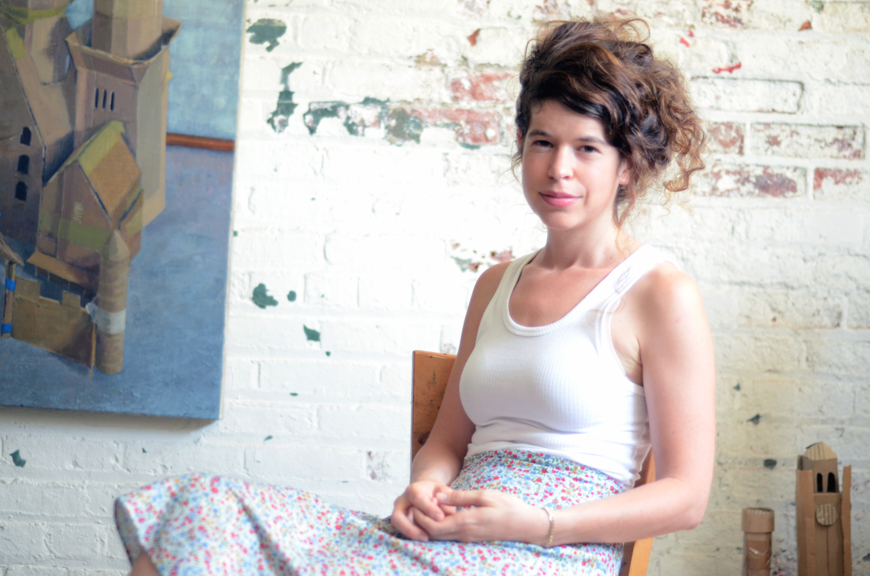 Avital in her studio.