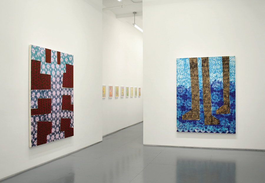 Installation view of Ometeotl at Klaus von Nichtssagend in 2017