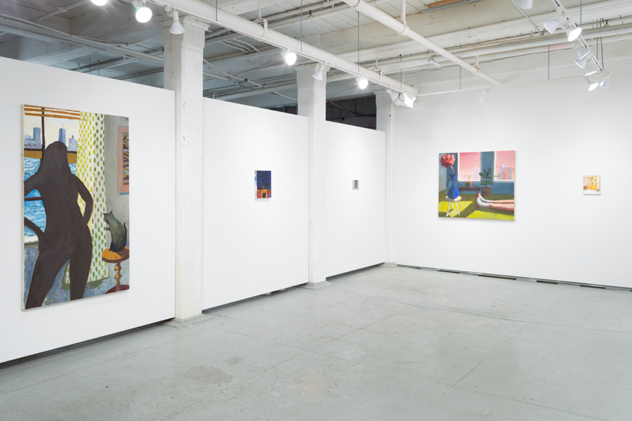 Installation view:  Framework , curated by Lauren Whearty.
