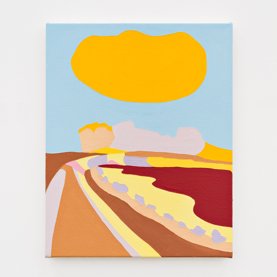 Coast of El Granada  oil on canvas 12 x 15 inches 2017