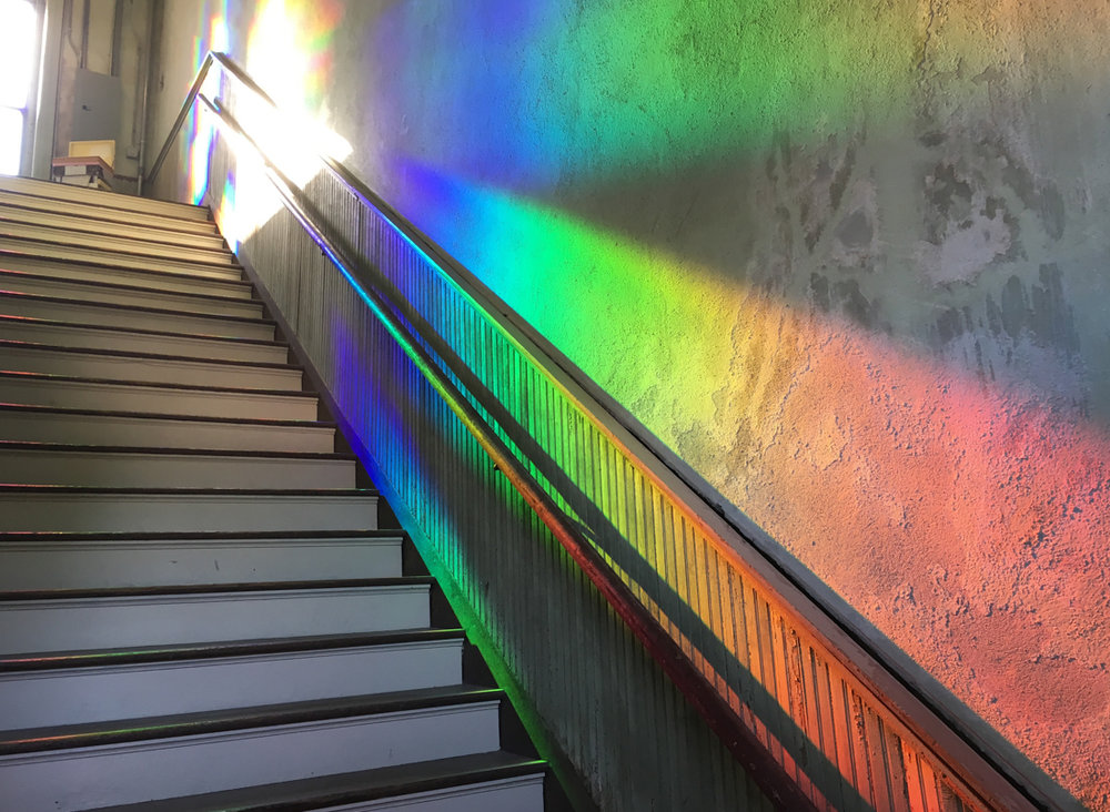 100W Rainbow Installation by Randell Morgan.