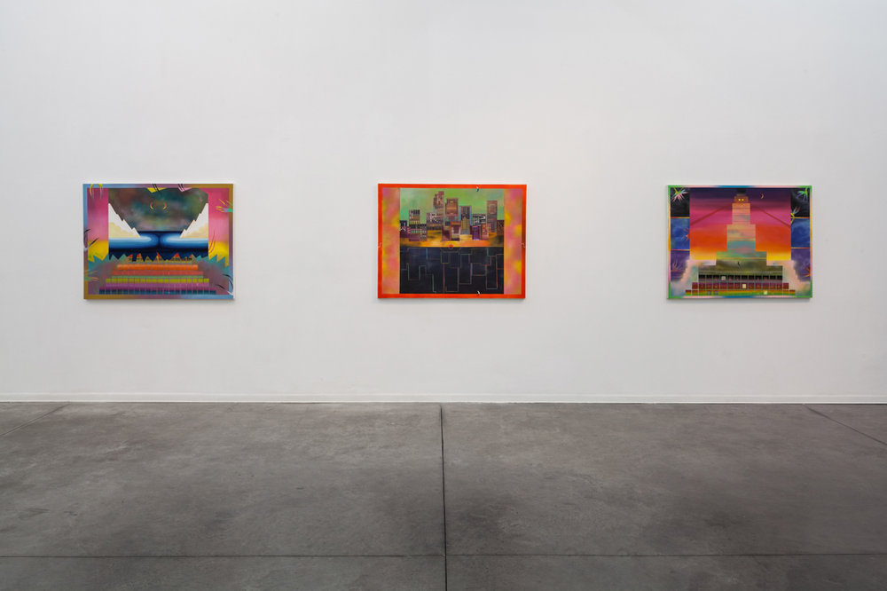 Install shot at Hezi Cohen Gallery
