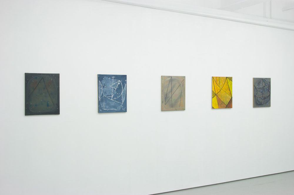 Installation shot from Clinton's solo show  Open Ended  at Transmitter Gallery in Brooklyn.