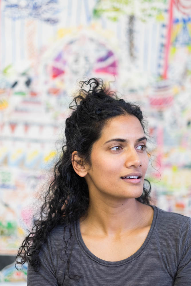 Padma in her studio.