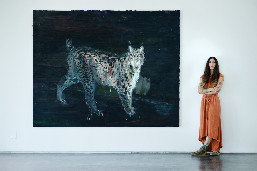 Installation view: Allison Schulnik:  NEST , September 2017, Galería Javier López & Fer Francés, Madrid, Spain. Photo by Pablo Gomez Zuolaga.