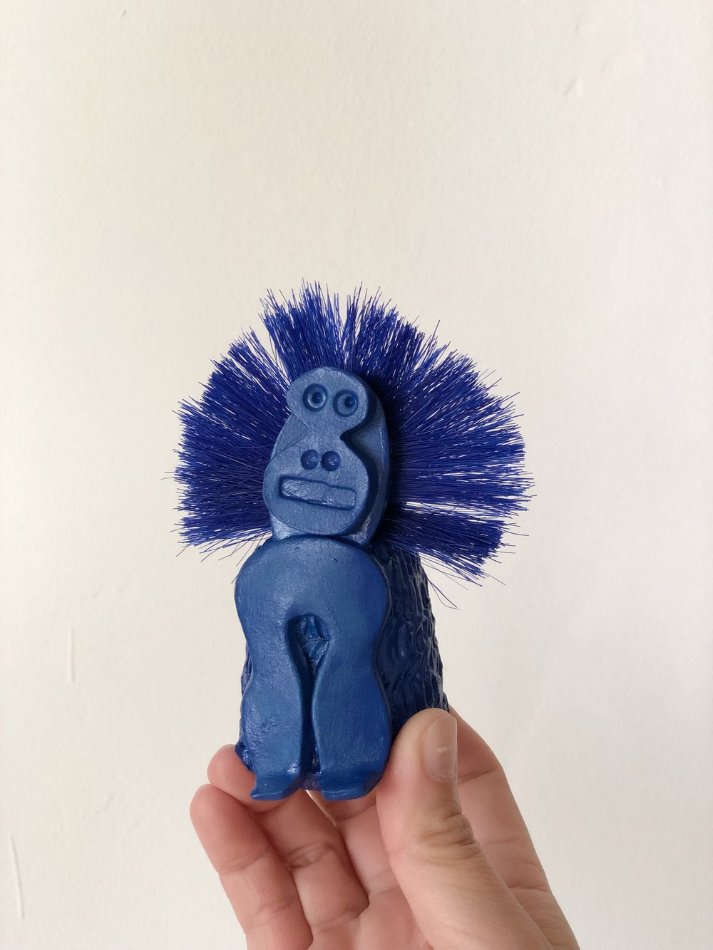 Blue Baboon  by Jikijaku