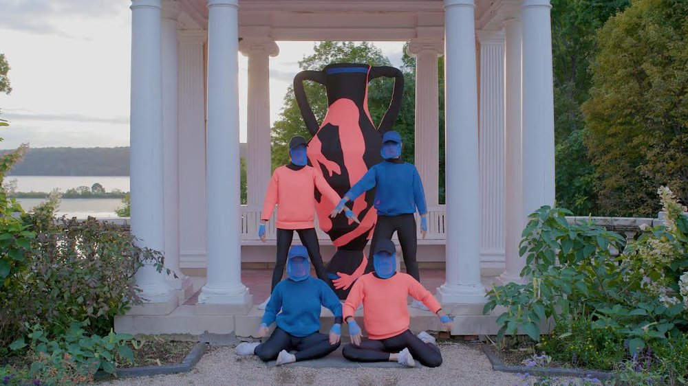 Gymnasia:  Garden Chorus Video Still, 2018, photo by Robin Stein