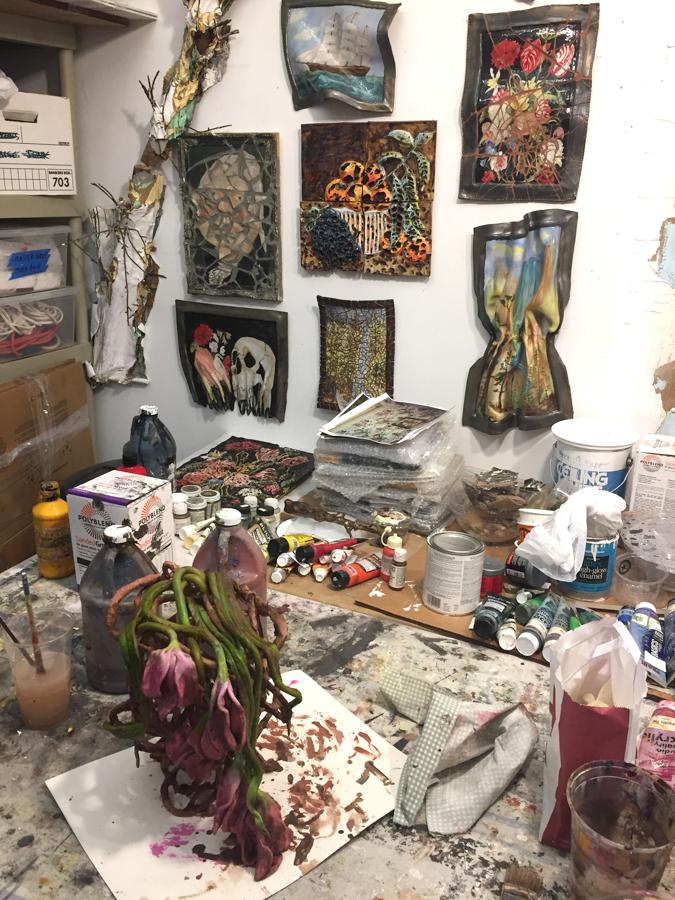 Valerie's studio