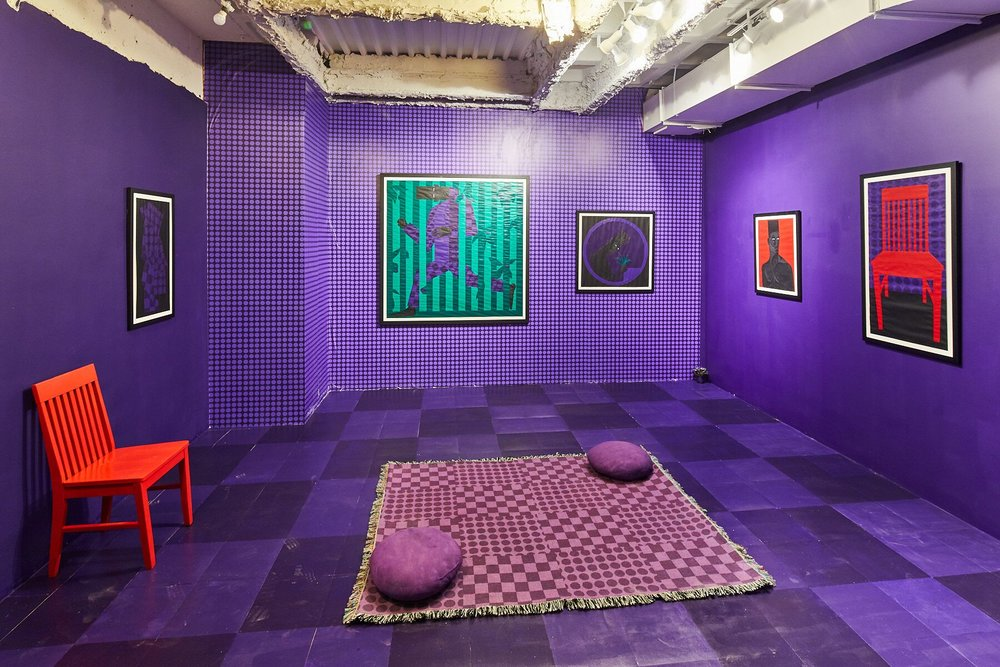 Installation: HOME BODY, work by Jon Key, photo by Samuel Morgan Photography