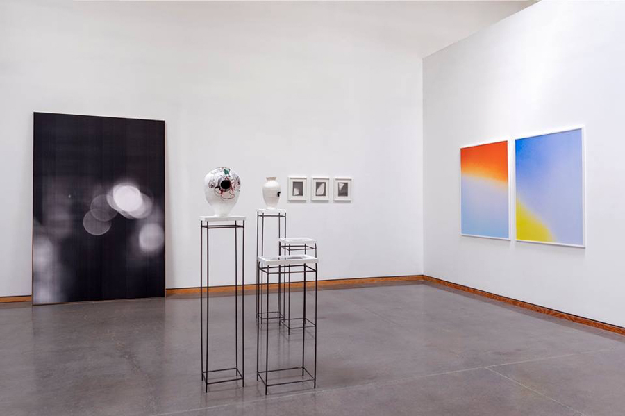 Installation Shot from  LET THERE BE LIGHT,  ANGELL GALLERY, Toronto, 2018   Group Exhibition: Isabel M. Martinez, Liz Nielsen, Katarina Riopel,  Tim Roda , Alison Rossiter, Sarah Sands Phillips, Jim Verburg Photo courtesy of Angell Gallery. Photograph by Alex Fischer.