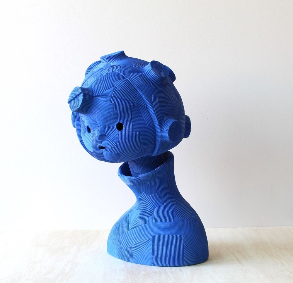 Mutation Girl , 2018 ceramic 27 x 17 x 41 inches